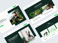 Web Design | Yogi - Yoga Teacher Webflow Template home web landing webdesign website homepage landingpage landing page web design webflow coach plant plants green health gym wellness fitness yoga