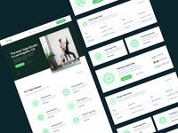 UI Elements | Yogi - Yoga Webflow Template uiux cards user experience ux ux design ui design userinterface user interface ui webflow coach plant plants green health gym wellness fitness yoga