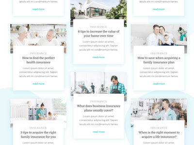 Blog & Blog Post | Care - Insurance Webflow Template post editorial blog design feed news article blog post blogs blog home insurance life insurance health insurance company health insurance assurance fintech finance insurance webflow