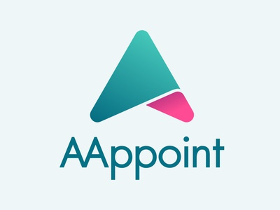 AAppoint Logo design ci logo xd sinthai mobile app appointment aappoint