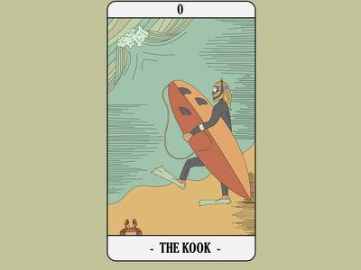 Surf Tarot - Kook