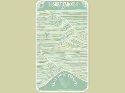 Surf Tarot - Back
