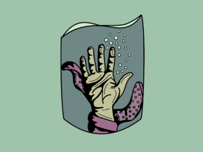Grasping for the surface Logo