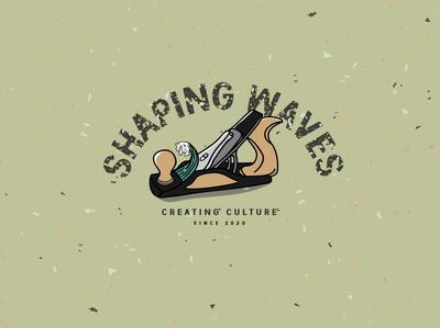 Shaping Waves Logo Development