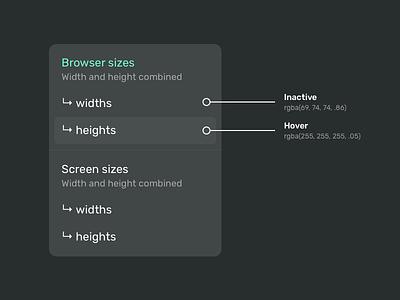 Context menu dropdown webapp overlay uiux ui menu contextual context clean website