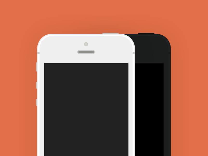 iPhone 5 for Sketch apple iphone sketch download freebie vector .sketch flat free