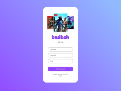 Daily UI 1 - Sign Up