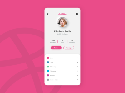Daily UI 6 - User Profile