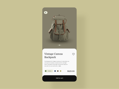 Daily UI 33 - Customize Product checkout customize webdesign product ui challenge design dailyui ui