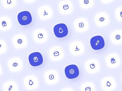 Icons design illustraion icons logo web minimal webdesign adobe xd icon design icon set icon app ui
