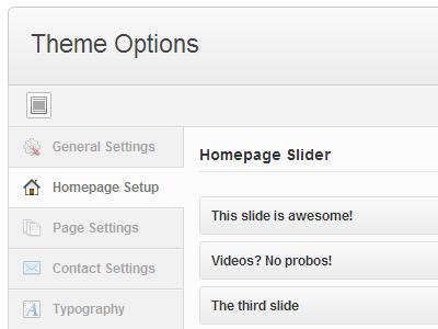 SMOF wordpress options framework gpl admin ui