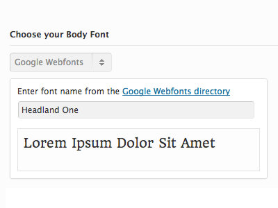 Google Webfonts Preview google webfonts smof wordpress ui theme options