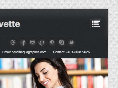Cuvette Mobile wordpress theme mobile website responsive iphone