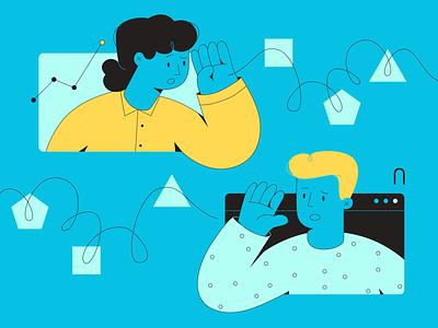 Dá pra traduzir? medium business tech vector illustrator illustration