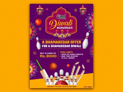 Poster Design For Diwali Offer