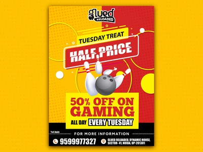 Poster on Tuesday Offer