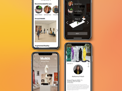 MoMA virtual museum experience art museum design app ux ui