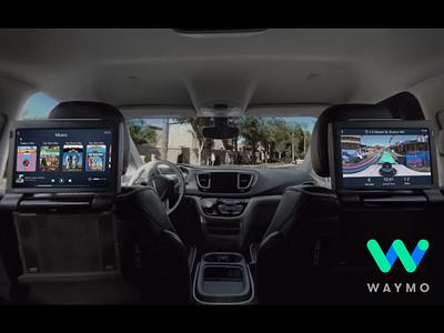 Waymo Self Driving Cars illustration uber car design ux ui tablet self driving car