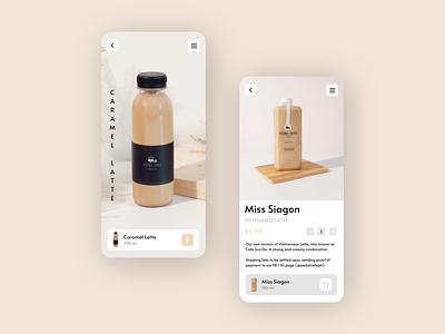 Pedal Cafe clean ux app branding design illustration ui coffee shop coffee