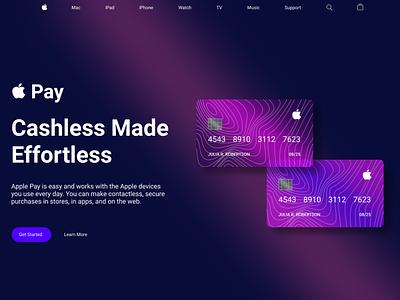 Apple Pay logo apple card credit card apple app illustration design ux ui