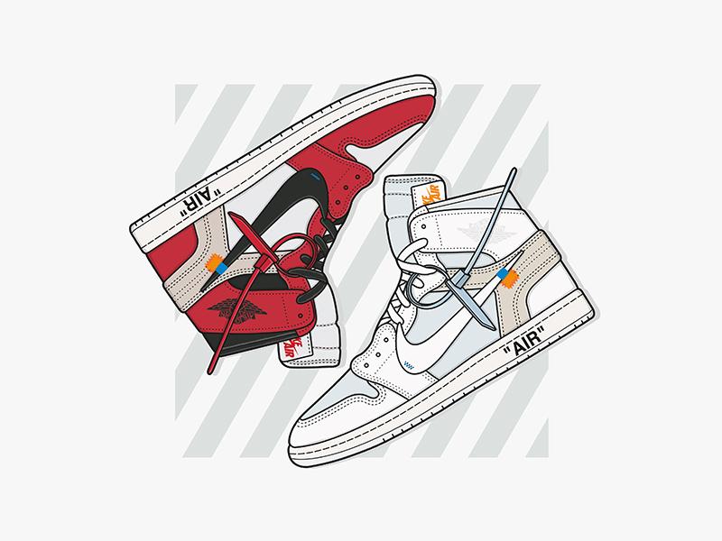 f794656d9ba167 Nike x Off-White Air Jordan 1 by Chris Kelly
