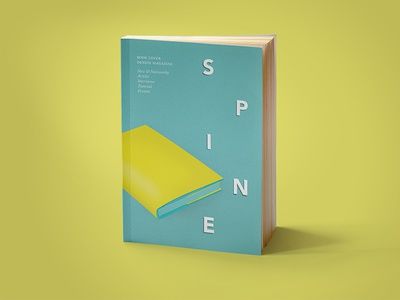 Spine Issue 3 - Call for Submissions spine book launch event magazine cover design book cover