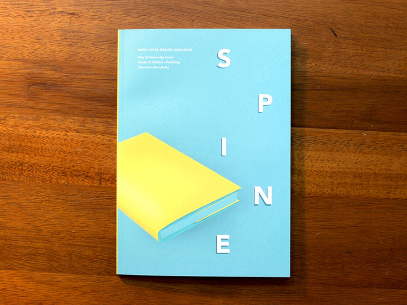Spine issue 3: it's arrived! noteworthy illustration cover book design cover design book design book cover design magazine spine