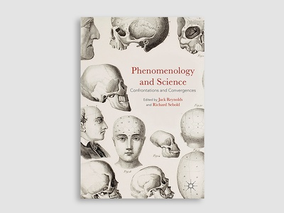 Phenomenology and Science historical typography illustration book cover cover design book cover design