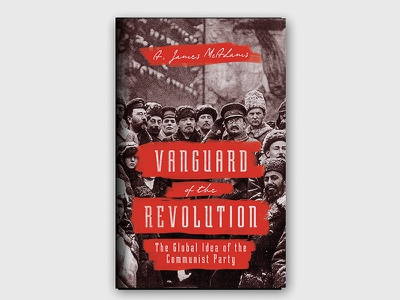 Vanguard of the Revolution graphic design design revolution book cover book design