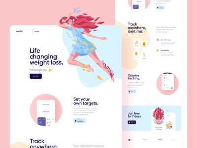 Nutracheck Website Redesign