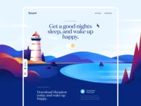 Sleepiest Start Page Design
