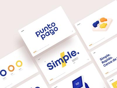 PuntoPago Branding font typogaphy terminal guidelines brandbook strategy logo branding illustration graphics icons ux ui cuberto