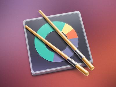 Sush.io MacOS app icon cuberto icons illustration mac os app