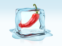 Ice ice baby - icon/illustration