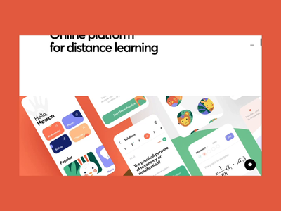 uLesson Case Study knowledge teach school tool student math learning study education web design illustration app graphics icons ux ui cuberto