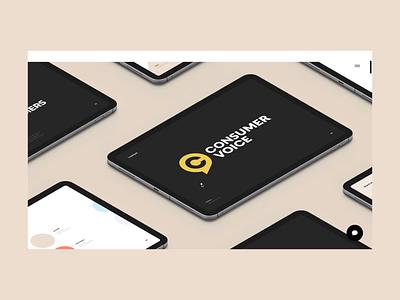 ConsumerVoice Case Study project case study feedback shop ecommerce goods digital consumer catalog branding interface illustration design app graphics icons ux ui cuberto