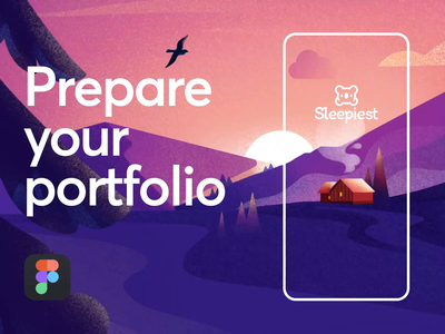 How to prepare your design portfolio / Tutorial product project work case study portfolio figma tutorial masterclass course web design illustration app graphics icons ux ui cuberto