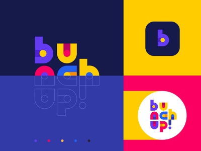 Bunchup branding startup product bunch guidelines style brandbook idenity logo branding illustration graphics icons ux ui cuberto