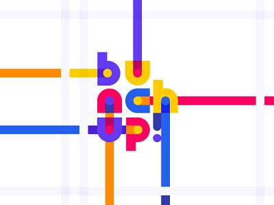 Bunchup branding startup product bunch guidelines style brandbook idenity logo branding illustration graphics icons ux ui cuberto