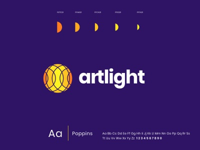 Artlight logo / Computer vision for medical diagnosis medical brand identity guideline technology healthcare artificial intelligence vision typography vector logo branding illustration graphics icons ux ui cuberto