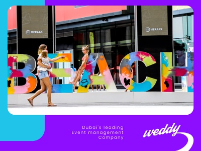 Weddy logo design / Event management company guideline brand identity management event icon typography vector branding logo sketch app graphics ux ui cuberto