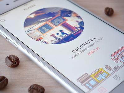 Main screen (coffee app)
