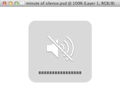 Minute Of Silence apple steve jobs