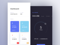 Cloud Mining UI