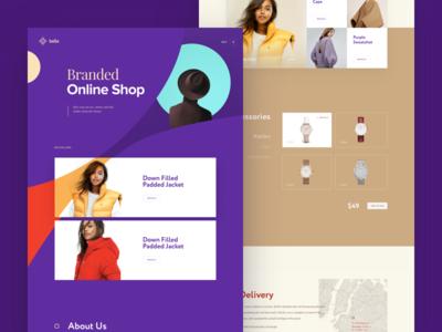 Bella E-commerce interface