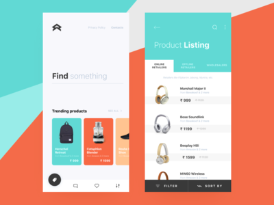 E-commerce UI app