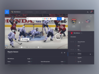 Ice Hockey Match Analysis UI