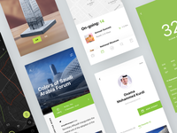 Riyadh app UI