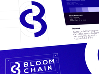 BloomChain Logo Design