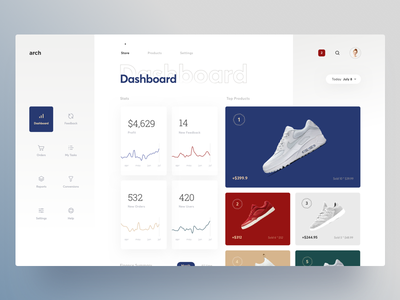 Sales Analytics Dashboard product ecommerce analytics graphics web cuberto dashboard sales sketch icons ux ui